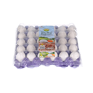 Al Bustan White Egg Medium 30'S