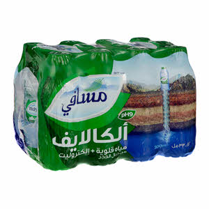 Masafi Mineral Water Alkalife 330ml × 12PCS
