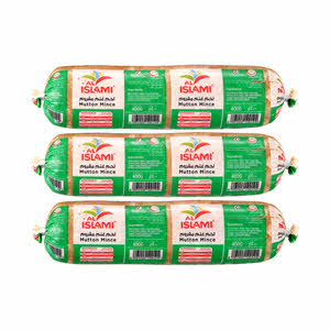 Al Islami Mutton Mince 400gm x 2+1 Free