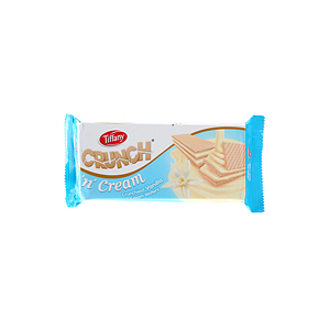 Tiffany Crunch Cream Wafer Vanilla 76gm