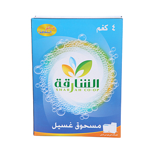 Sharjah Coop Detergent Powder Top Loader 4Kg