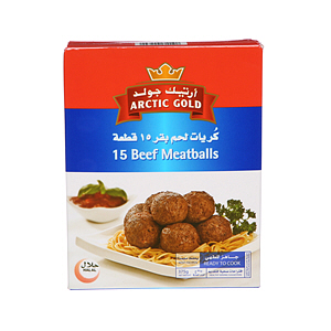 Artic Gold Beef Meat Balls 375gm