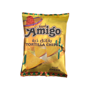 Amigo Chips Tortilla Cheese 100Gm