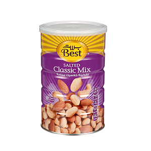 Best Mixnuts Can 500g