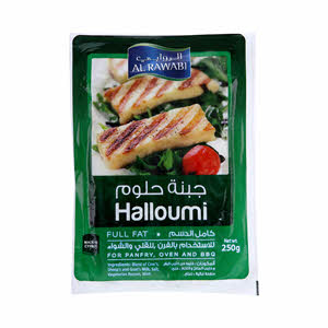 Al Rawabi Halloumi Full Fat Cheese 250Gm