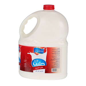 Al Rawabi Fresh Milk Low Fat 3Ltr