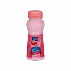 Al Rawabi Milk Strawberry 200Ml