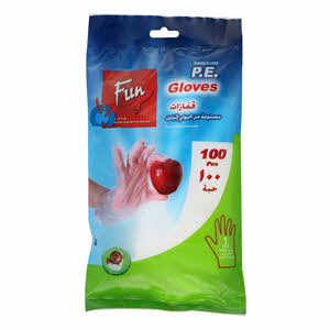 Fun Standard P.E Gloves 100PCS
