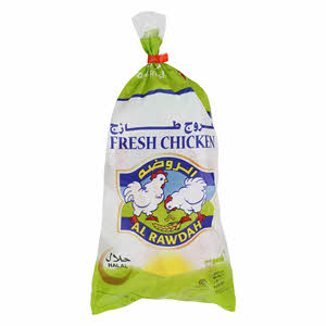 Al Rawdah Fresh Chicken 1100Gr