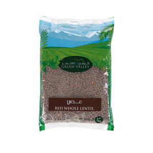 Green Valley Red Whole Lentil 1Kg