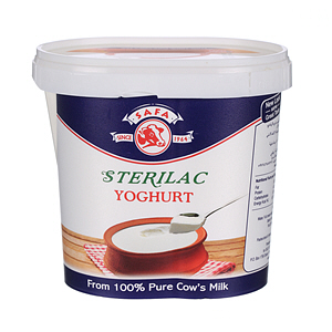 Safa Sterilac Fresh Yoghurt Full Fat 1Kg
