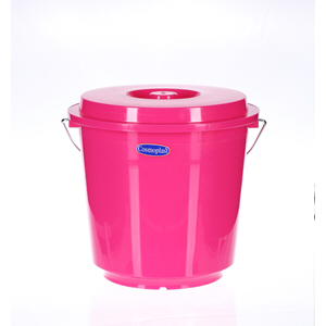 Cosmoplast Bucket with Lid 10Ltr