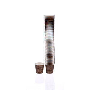Falcon Paper Brown Cup 2.5Oz 50 Cups