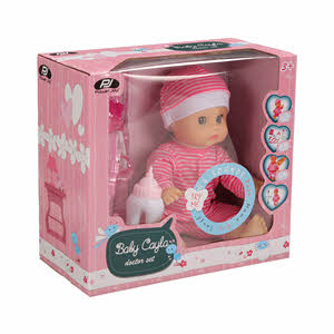 P.Joy Baby Cayla Doctor Set B/O 30Cm