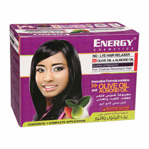 Energy Cosmetics Lye Hair Relaxer With Olive & Almond Oil