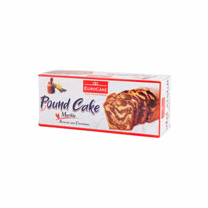 Eurocake Sliced Pound Cake Marble 230gm