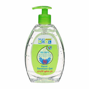Silky Cool Hand Sanitizer Gel 500Ml