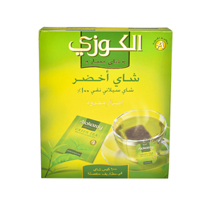 Alokozay green Tea 100 Bag