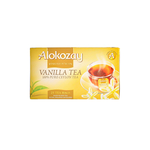 Alokozay Vanilla Tea 25 Bag