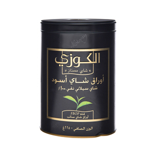 Alokozay Tin Tea Fbop Loose 225gm