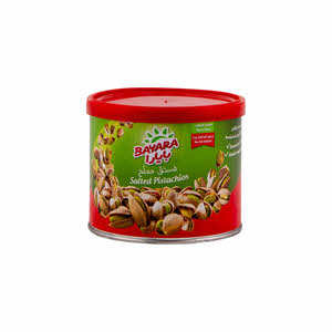 Bayara Snacks Pistachios Salted Can 100gm