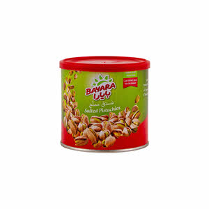 Bayara Snacks Pistachios Salted Can 225gm