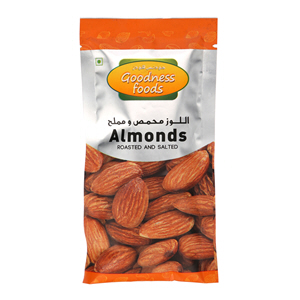 Almond Roasted & Salted Packet 40gm