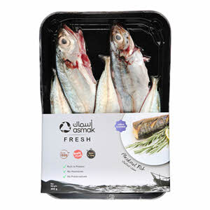 Asmak Mackeral Whole Cleaned 300gm