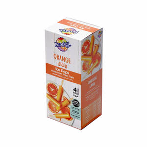 Barakat Ice Pops Orange 50ml x 4PCS