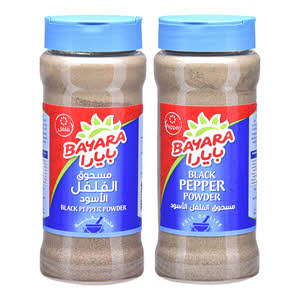 Bayara Black Pepper Powder 330ml x 2PCS