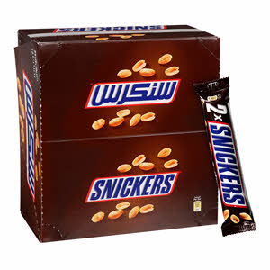 Snickers Milk Chocolate With Soft Nougat 24 x 40Gm