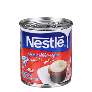 Nestlé Sweetened Condensed Milk Fat Free 405gm