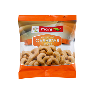 Mani Salted Cashews 50gm