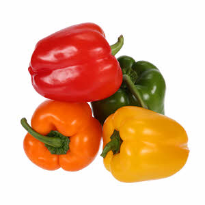 Fresh Capsicum Mix 400gm UAE