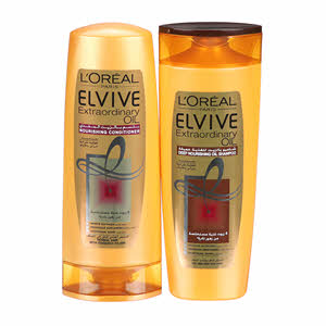 L'Oreal Elvive Deep Nourishing Oil Shampoo 400Ml + Conditioner 400Ml 33%Off