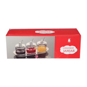 Kitchenmark Acrylic Pickle Set 3Pc
