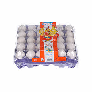 Saha Dubai White Eggs Large 30'S