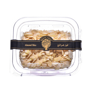 Organic Corner Almond Slice 200gm