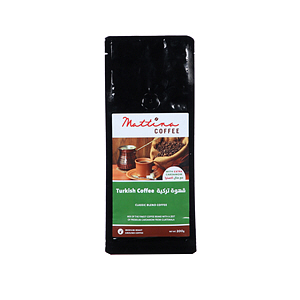 Mattina Turkish Coffee with Extra Cardamom 200gm