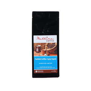Mattina Turkish Coffee Blonde Blend 200gm