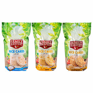 Family Harvest Rice Cake Assorted 100gm x 3PCS
