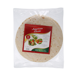 American Classic Tortillas Bread 10Inch 768gm