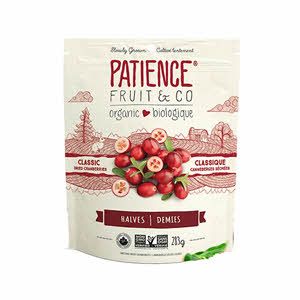 Patience Organic Dried Cranberry 283gm