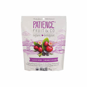 Patience Organic Dried 3 Mix Berries196gm