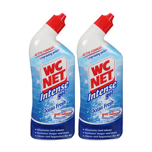 Wc Net Intense Ocean Fresh 2 x 750Ml