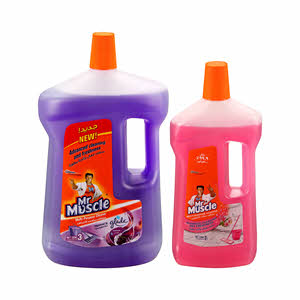 Mr.Muscle Cleaner Assorted 3Ltr + 1Ltr