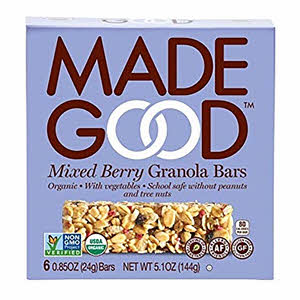 Made Good Mixed Berry Granola Bar 144gm