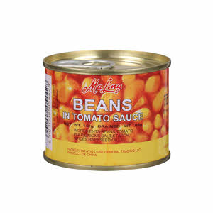 Maling Beans In Tomato Sauce 142Gm