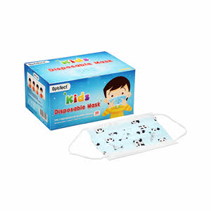 Optitect Kids Disposable Mask Blue 3Ply x 50PCS