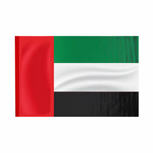 UAE Flag 100X160 High Quality